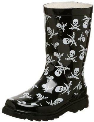 Chooka Toddler/Little Kid Tossed Skulls Rain Boot