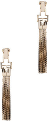 Lanvin Fringe Earrings in Gold
