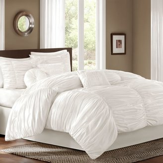 Bed Bath & Beyond Sidney Comforter Set in White