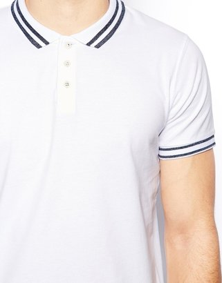 Selected Polo Shirt In Jersey