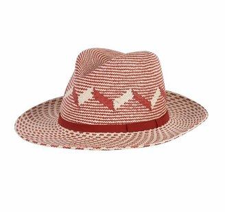Anthony Peto Safari Patterned Panama Hat