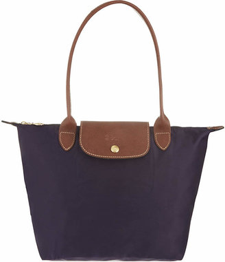 Longchamp Le Pliage small shopper in myrtille