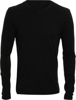 Barneys New York Crewneck Tee-Black