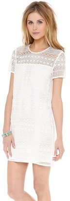 Juicy Couture Linear Lace Guipure Dress