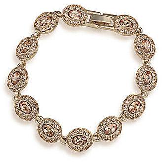 Carolee Topaz Crystal Bracelet