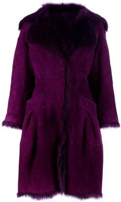 Alberta Ferretti Lambskin coat