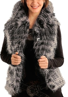 Chateau Roux Powder River Outfitters Chateauroux Vest - Lynx Tipped Faux Fur (For Women)