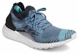 adidas Women's Ultra Boost X Parley Platform Sneaker