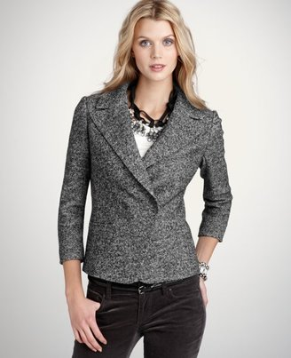 Davis Knit Tweed Jacket