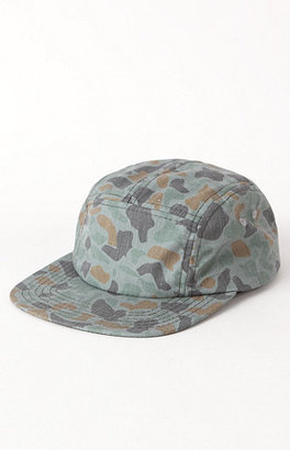 Camo On The Byas Camper 5 Panel Hat