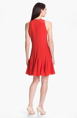 Rebecca Taylor Pieced Godet Dress