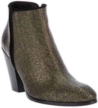 Giuseppe Zanotti Design Metallic ankle boot
