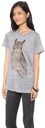 Patterson J. Kincaid Pjk Classic Owl Crew Tee