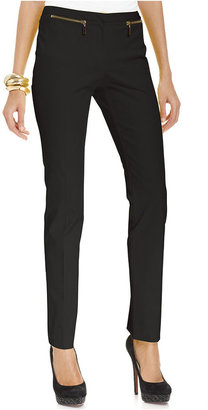 Alfani Pants, Skinny Zip-Pocket