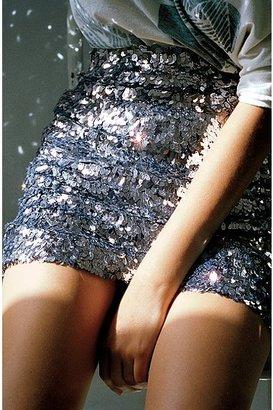 Silence & Noise Sequin Skirt