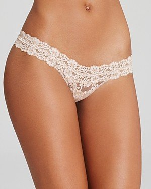 Hanky Panky Cross-Dyed Signature Lace Low-Rise Thong