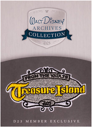 Disney Treasure Island Patch - D23
