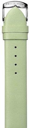 Philip Stein Green Calf Watch Strap, 20mm $75 thestylecure.com