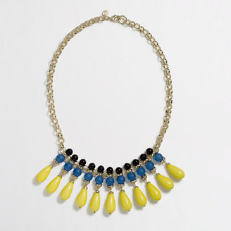 J.Crew Factory Factory multicolor teardrop necklace