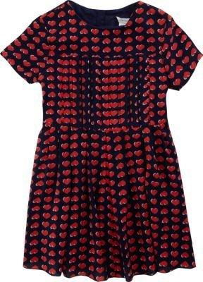 Little Marc Heart Print Dress