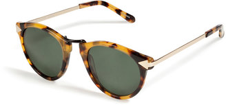 Karen Walker Helter Skelter Sunglasses in Crazy Tortoise