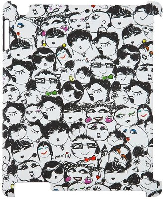 Lanvin 'Alber Elbaz' faces iPad case