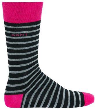 Gant Colour Pin Stripe Heel And Toe Socks