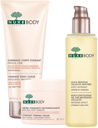 Nuxe Pampering Body Set[br]Scrub, Cream, & Oil