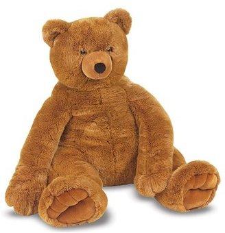 Melissa & Doug Oversized Brown Teddy Bear