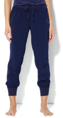 New York & Co. Love, NY&C Collection - Banded-Hem Silky Pant