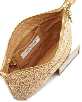Eric Javits Lark Crossbody Bag, Peanut
