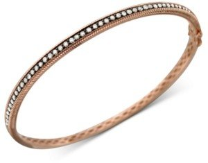 LeVian Diamond Chocolate Bangle (1 ct. t.w.) in 14k Rose, Yellow or White Gold