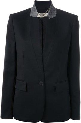 Stella McCartney contrasting collar blazer