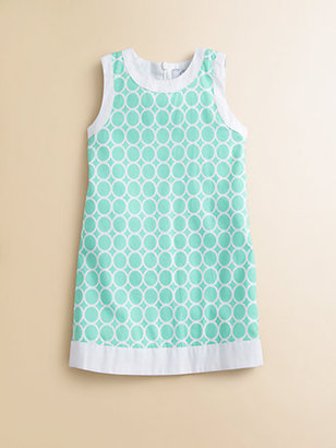 Baby CZ Toddler's & Little Girl's Circles Shift Dress