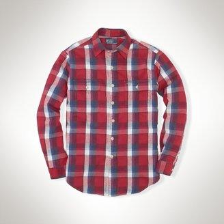 Polo Ralph Lauren Custom-Fit Matlock Plaid Shirt