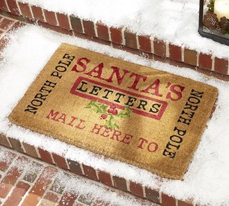 Pottery Barn Letters to Santa Door Mat