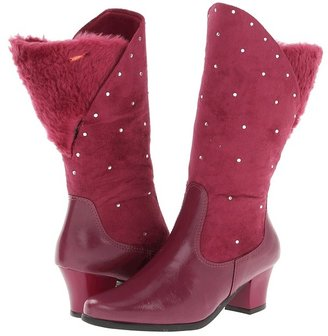 Pampili Divas (Little Kid/Big Kid) (Dark Red) - Footwear
