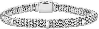 Women's Lagos Caviar Rope Station Bracelet $295 thestylecure.com