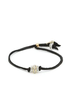 Ettika Crystal Bead & Leather Cord Bracelet