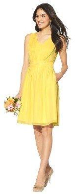 Women's Chiffon V-Neck Bridesmaid Bridesmaid Bridesmaid Dress Limited Availability Colors - TEVOLIO™