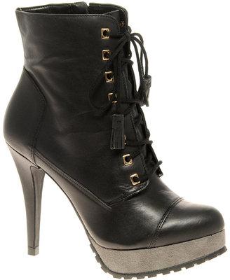 Carvela Spent Lace Up Heeled Boots