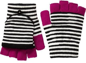 Old Navy Women's Striped Convertible Mittens
