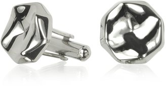 Forzieri ATH Collection 4 Points Round Cufflinks