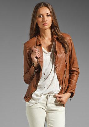 Muu Baa Muubaa Kendyll Leather Biker Jacket