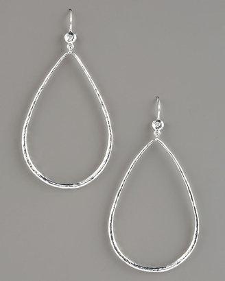 Ippolita Open Teardrop Earrings with Diamonds
