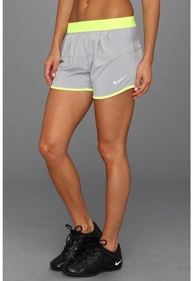 Nike Icon Woven Short (Stadium Grey/Volt/White) - Apparel