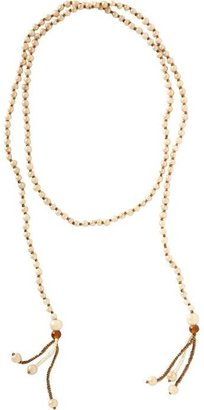Old Navy Women's Long Beaded Lariat Necklaces