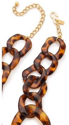 Kenneth Jay Lane Graduated Link Necklace
