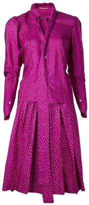 Yves Saint Laurent Vintage heart print skirt suit