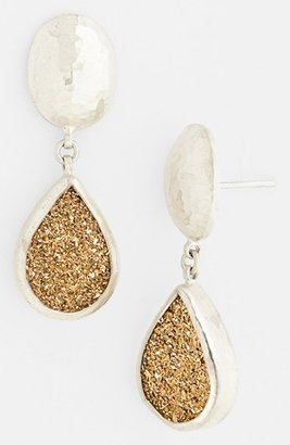 Gurhan 'Galaxy' Drusy Drop Earrings